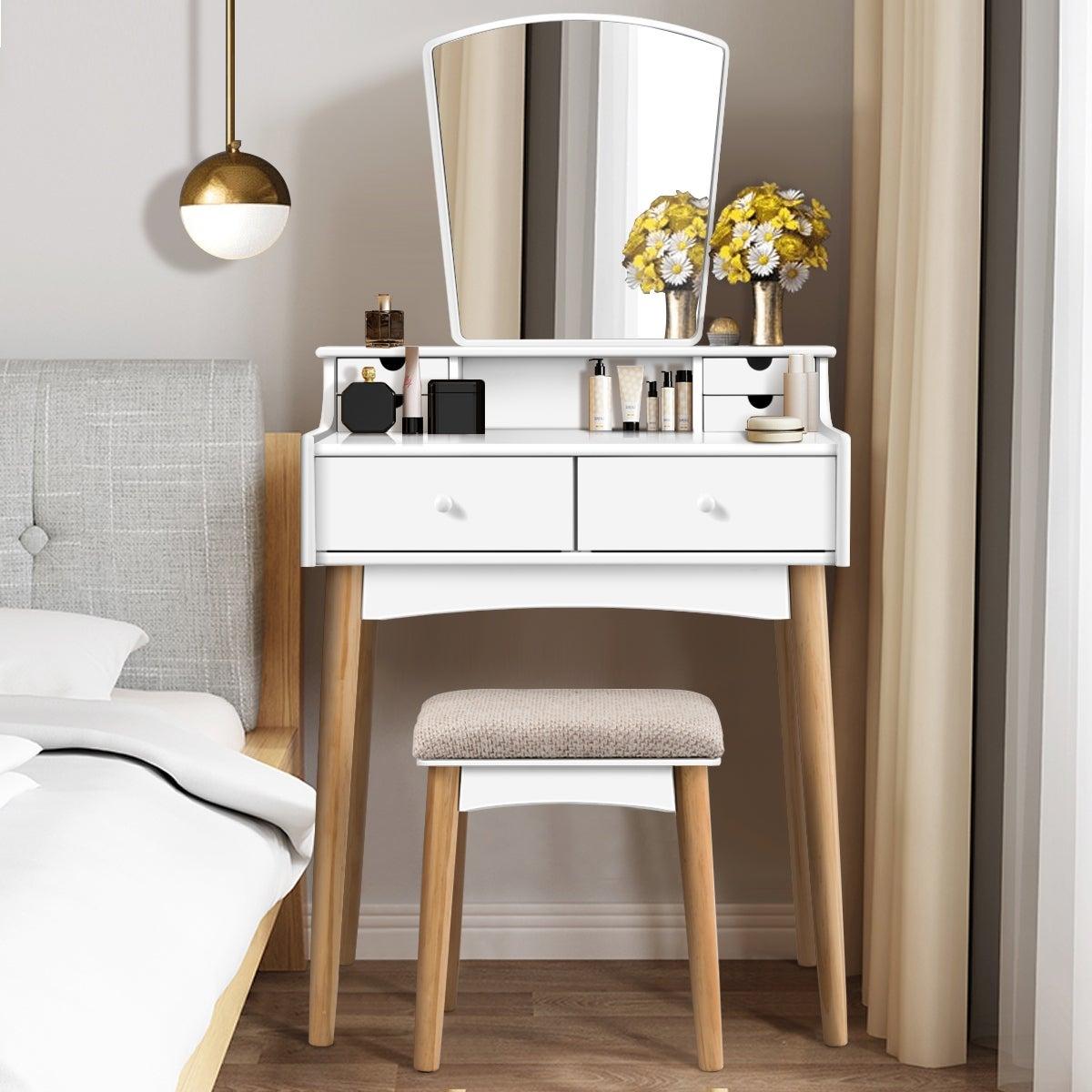 Hướng dẫn bố trí bàn trang điểm trong phòng ngủ hợp phong thủy